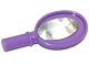 Part No: 93080bpb001  Name: Friends Accessories Hand Mirror with Heart on Reverse with Oval Mirror Pattern (Sticker)