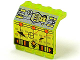 Part No: 2582pb08  Name: Hinge Panel 2 x 4 x 3 1/3 with UFO Pattern