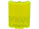 Part No: 30562pb033L  Name: Cylinder Quarter 4 x 4 x 6 with Lime Bubbles Pattern Left (Sticker) - Set 79119
