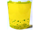 Part No: 30562pb033R  Name: Cylinder Quarter 4 x 4 x 6 with Lime Bubbles Pattern Right (Sticker) - Set 79119