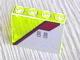 Part No: 4215pb029  Name: Panel 1 x 4 x 3 with SW Silver and Red Pattern Left (Sticker) - Set 4482