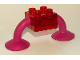 Part No: 40703b  Name: Duplo Creature Brick 2 x 2 with 2 Suction Cups
