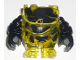 Part No: 64784pb02c01  Name: Body Rock Monster - Torso/Legs with Black Arms Assembly