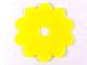 Part No: clikits036  Name: Clikits Flexy Film, Flower 10 Petals 6 x 6