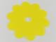 Part No: clikits075  Name: Clikits Flexy Film, Flower 10 Petals 7 x 7