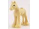 Part No: 11241pb06  Name: Horse, Friends, Foal with Black and White Eyes with Bright Light Blue Iris Pattern