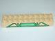 Part No: 2291pb01  Name: Duplo, Brick 2 x 10 with Green Lattice Pattern and Knapford Logo