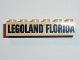 Part No: 2456pb007  Name: Brick 2 x 6 with Black LEGOLAND FLORIDA Pattern