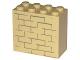Part No: 30144pb030  Name: Brick 2 x 4 x 3 with Bricks Pattern (Sticker) - Set 4852
