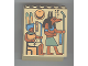 Part No: 30156px3  Name: Panel 4 x 6 x 6 Sloped with Hieroglyphs and Jackal Pattern
