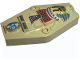 Part No: 30164px1  Name: Container, Coffin Lid with Mummy Relief Colorful Pattern (Sarcophagus)