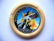Part No: 32171pb045  Name: Throwbot Disk, Granite / Rock, 4 pips, flying box hitting rock Pattern
