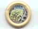 Part No: 32171pb046  Name: Throwbot Disk, Granite / Rock, 5 pips, shielding against falling rocks Pattern