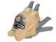 Part No: 37631pb01  Name: Minifigure, Headgear Helmet SW Enfys Nest Pattern
