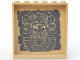 Part No: 59349pb044  Name: Panel 1 x 6 x 5 with Aztec Head Pattern 1 on Inside - Set 7627