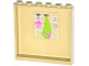Part No: 59349pb073  Name: Panel 1 x 6 x 5 with Sponge, Green Towel and Soap Bottle Pattern on Inside (Sticker) - Set 3185