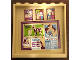 Part No: 59349pb156  Name: Panel 1 x 6 x 5 with Photos, Bulletin Board and Calendar (Sticker) - Set 41126