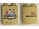 Part No: 76371pb112  Name: Duplo, Brick 1 x 2 x 2 with Bottom Tube with Legoland Florida Resort LEGO Star Wars Days Pattern