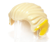 Part No: 93230pb01  Name: Minifigure, Hair Swept Back with Pointed Yellow (Elf) Ears Pattern