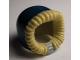Part No: 95678pb01  Name: Minifigure, Headgear Hood Fur-lined, Short with Dark Blue Hood Pattern