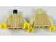 Part No: 973pb2834c01  Name: Torso Knit Sweater Pattern / Tan Arms / Yellow Hands