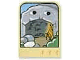 Part No: dupstr08  Name: Storybuilder Meet the Dinosaur Card with Cave and Fire Pattern