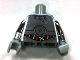 Part No: 973pb1126c01  Name: Torso SW TC-14 with Blue, Red and White Wires Pattern / Chrome Silver Arms / Light Bluish Gray Hands