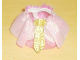 Part No: dupskirt01  Name: Duplo Wear Cloth Skirt with Gold Ribbon (Set 4820)