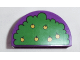 Part No: 31213pb010  Name: Duplo, Brick 2 x 4 x 2 Curved Top with 'Winnie the Pooh' Pattern / Tree with Apples Pattern (Reverse)