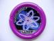 Part No: 32171pb054  Name: Throwbot Disk, Electro / Energy, 7 pips, atomic orbitals Pattern