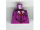Part No: 973px175  Name: Torso Harry Potter Quirrell Pattern