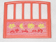 Part No: 6684pb02  Name: Scala Baby Crib Footboard 1 x 7 x 6 with Vehicles, Moon and Stars Pattern (Sticker) - Set 3290