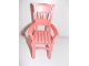Part No: 6925pb03  Name: Scala Chair - Highback Dining with Stripes with Hearts Pattern (Sticker) - Set 3243