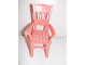 Part No: 6925pb04  Name: Scala Chair - Highback Dining with Plaid Seat Pattern (Sticker) - Set 3290