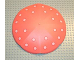 Part No: 6993pb01  Name: Scala Umbrella Top - Large with Pink Dots Pattern (Stickers) - Set 3240