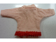 Part No: scl037  Name: Scala, Clothes Female Sweater, with Collar and Red Trim