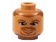 Part No: 3626bpb0133  Name: Minifigure, Head NBA Toni Kukoc Pattern - Blocked Open Stud