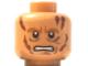 Part No: 3626bpb0443  Name: Minifig, Head Male Scars, Bared Teeth Pattern (SW Anakin Skywalker) - Blocked Open Stud