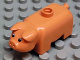 Part No: 4011type2pb01  Name: Duplo Pig Old Style, Taller, Eyes Black & White