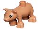 Part No: pig03pb01  Name: Duplo Pig Baby - New Style