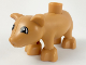 Part No: pig03pb03  Name: Duplo Pig Baby - New Style, Eyes Pointed to Front Pattern