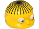 Part No: 15502pb01  Name: Minifigure, Head Modified Simpsons Ralph Wiggum