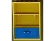 Part No: 2042c01  Name: Fabuland Cupboard 2 x 6 x 7 with Blue Doors