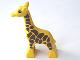 Part No: 2278pb02  Name: Duplo Giraffe Baby First Version Dense Spot Pattern
