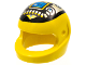 Part No: 2446px4  Name: Minifigure, Headgear Helmet Standard with Silver and Blue Machinery Pattern