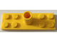 Part No: 25195  Name: Plate, Modified 2 x 6 with Pole Holder Pin