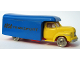 Part No: 257pb02  Name: HO Scale, Bedford Moving Van (Indicators on side - LEGO Transport in gold)