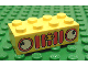 Part No: 3001pb027  Name: Brick 2 x 4 with Car Grille Fabuland Vertical Pattern (Sticker)