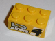 Part No: 3002pb31  Name: Brick 2 x 3 with 'LR NEWS 4' Pattern on Both Sides (Stickers) - Set 8152