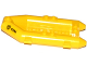 Part No: 30086pb08  Name: Boat, Rubber Raft, Small with Fire Badge and '92194' Pattern on Both Sides (Stickers) - Set 60109